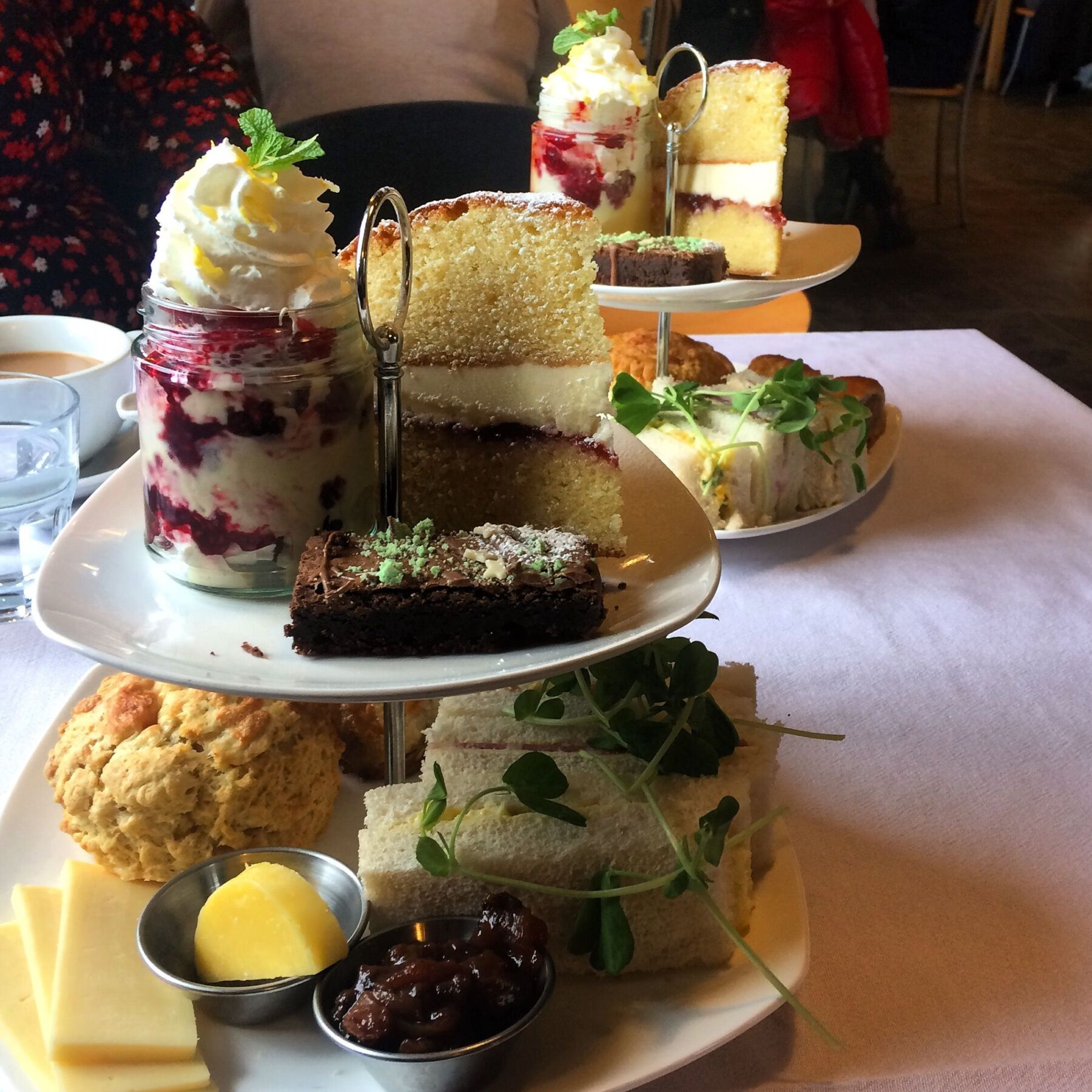 Afternoon Tea in the Coffee Shop